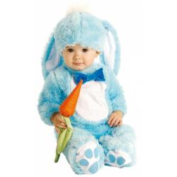 Obrázek Baby kostým - modrý králíček (12-18m)