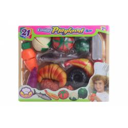 Obrázek Sada krájení zelenina a pečivo