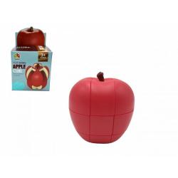 Obrázek Hlavolam jablko plast v krabičce 8,5x8,5x14,5cm