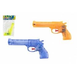Obrázek Vodní pistole plast 17cm 3 barvy v sáčku