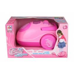 Obrázek Vysavač růžový na baterie