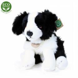 Obrázek Plyšový pes Border kolie sedící 30 cm ECO-FRIENDLY