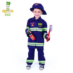 Obrázek Dětský kostým hasič s českým potiskem (S) EKO