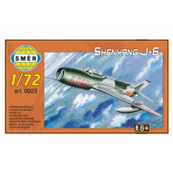 Obrázek Model Shenyang J-6 12,5 x 18 cm