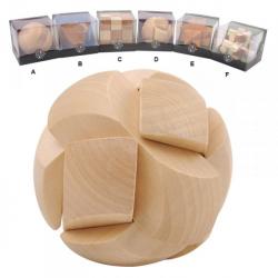 Obrázek Hlavolamy - dřevěné 3D