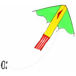 Obrázek drak létající nylonový, 118 x 98 cm