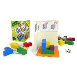 Obrázek Qubolo společenská hra s dřevěnými kostkami v látkovém pytlíčku STRAGOO