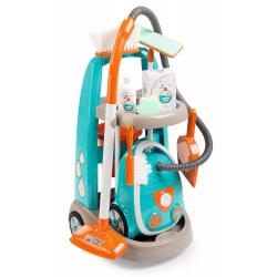 Obrázek Vozík pro malou uklízečku s vysavačem