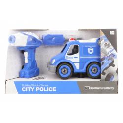 Obrázek Šroubovací policejní auto na dálkové ovládání