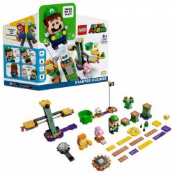Obrázek LEGO<sup><small>®</small></sup> SUPER MARIO 71387 - Dobrodružství s Luigim – startovací set