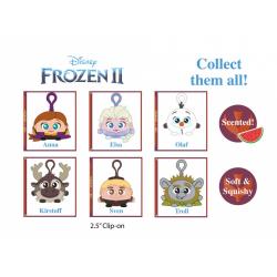 Obrázek Přívěsek na klíče s klipem Squeezy Palz Ledové království 2