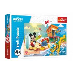 Obrázek Puzzle Mickey a Donald Disney 33x22cm 60 dílků v krabici 21x14x4cm