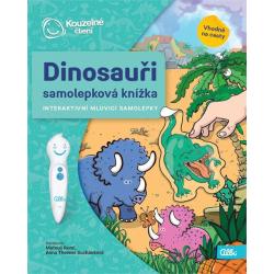 Obrázek ALBI KČ Samolepková knížka Dinosauři