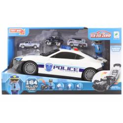Obrázek Policejní auto 2v1 na baterie