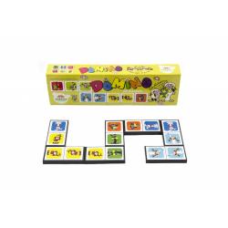Obrázek Domino Poď s nami do rozprávky 28ks spoločenská hra 21x6x3cm