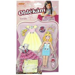 Obrázek Oblékání- panenka blondýnka