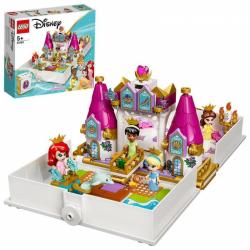 Obrázek LEGO<sup><small>®</small></sup> Disney Princess 43193 - Ariel Kráska PopelkaaTianaa jejich pohádková kniha dobrodružství