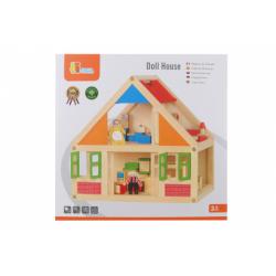 Obrázek Dřevěný domeček pro panenky