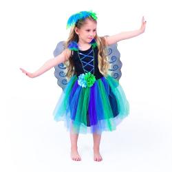Obrázek Dětský kostým paví víla (S)
