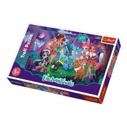 Obrázek Puzzle Enchantimals 100 dílků 41x27,5cm