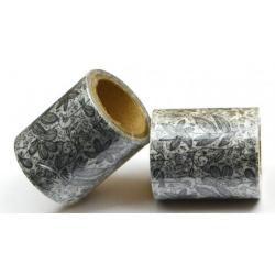 Obrázek Vykreslovací antistresová dekorační lepicí páska - coloring WASHI tape-1ks kytky se stonkem