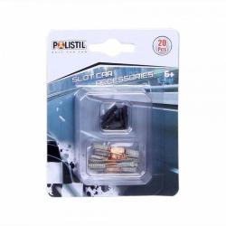 Obrázek Polistil Kontakty a svorky k autodráhám Polistil 96060