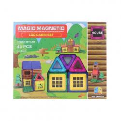 Obrázek Magnetická stavebinice 48 ks