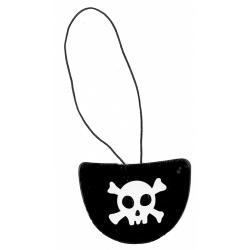 Obrázek záplata oka pirátská 6 ks v sáčku
