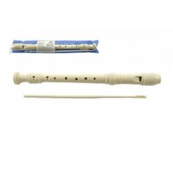Obrázek Flétna plast 30cm s čistítkem v plastovém obalu