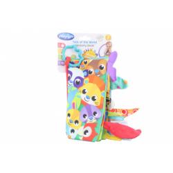 Obrázek Playgro Textilní knížka se zvířecími ocásky