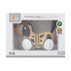 Obrázek Dřevěná tahačka - pes