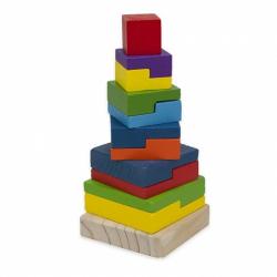 Obrázek Dřevěná věž Baby 20 cm