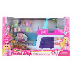 Obrázek Loď pro panenky s doplňky