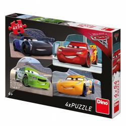 Obrázek Puzzle WD Cars 3: Rivalové 4x54D