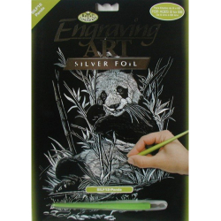 Obrázek Vyškrabovací obrázek- Panda