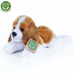 Obrázek Plyšový pes King Charles Španěl ležící 18 cm se zvukem ECO-FRIENDLY