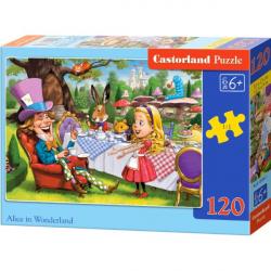 Obrázek Puzzle Castorland 120 dílků - Alenka v říši divů