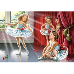 Obrázek Puzzle 120 dílků - Hodina baletu