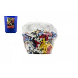 Obrázek Stavebnice Cheva Koš Plný Kostek plast 2 kg v plastovém boxu