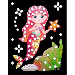 Obrázek Třpytivý mozaikový obrázek - Mořské víly