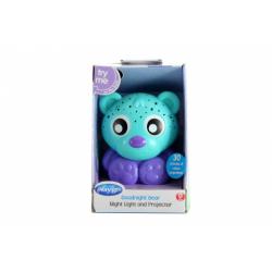 Obrázek Playgro - Usínací lampička medvídek s projektorem - zelený