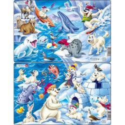 Obrázek Puzzle Arktický led 17 dílků