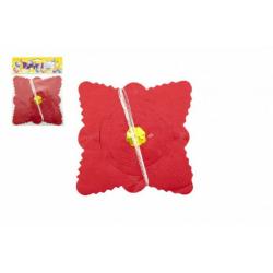 Obrázek Girlanda papierová štvorec 4m v sáčku