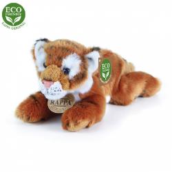 Obrázek Plyšový tygr hnědý ležící 17 cm ECO-FRIENDLY