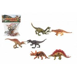 Obrázek Dinosaurus plast 15-16cm 6ks v sáčku