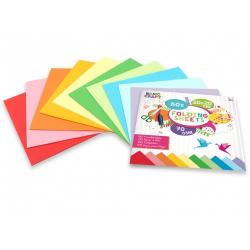 Obrázek Sada barevných papírů 20x20 cm