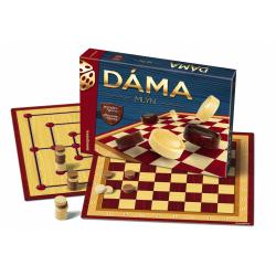 Obrázek Dáma + mlyn spoločenská hra