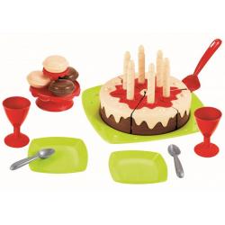 Obrázek Narozeninový dort s příslušenstvím
