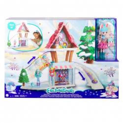 Obrázek Enchantimals horská chatka herní set