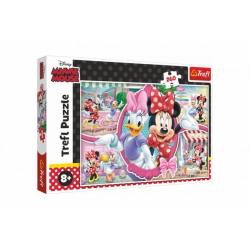 Obrázek Puzzle Minnie a Daisy/Disney 60x40cm 260 dílků v krabici 40x26x4,5cm